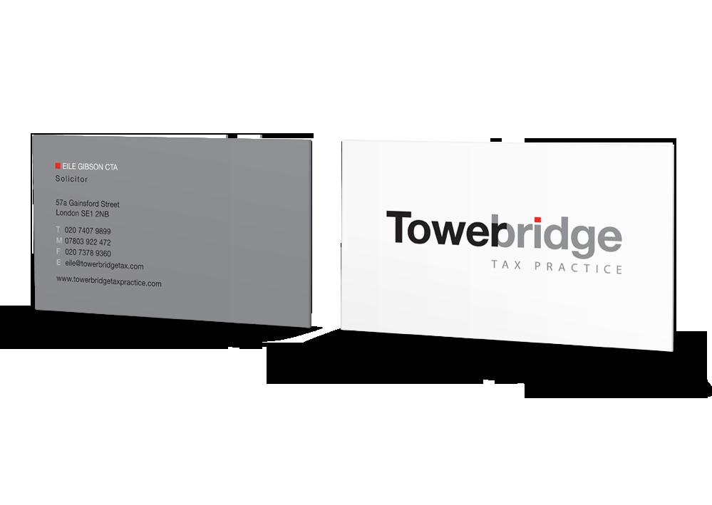 Tigerpink Design - Tower Bridge Tax Practice