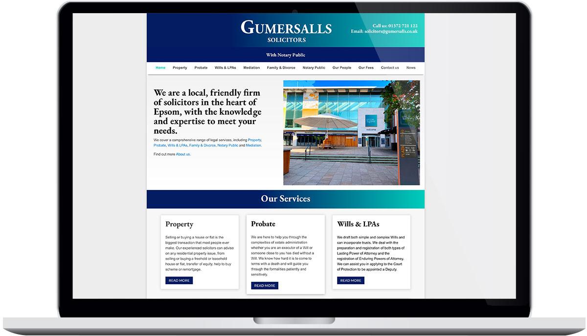 Tigerpink Design - Gumersalls - Laptop