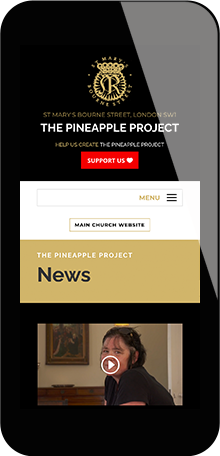 Tigerpink Design - The Pineapple Project - iPhone