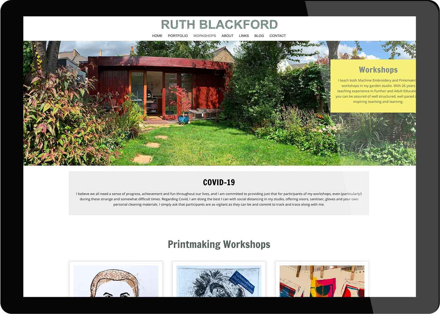 Tigerpink Design - Ruth Blackford - iPad