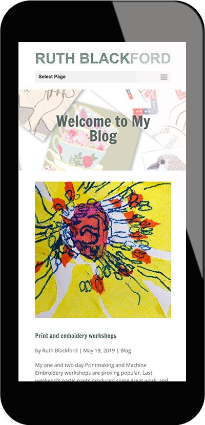 Tigerpink Design - Ruth Blackford - iPhone