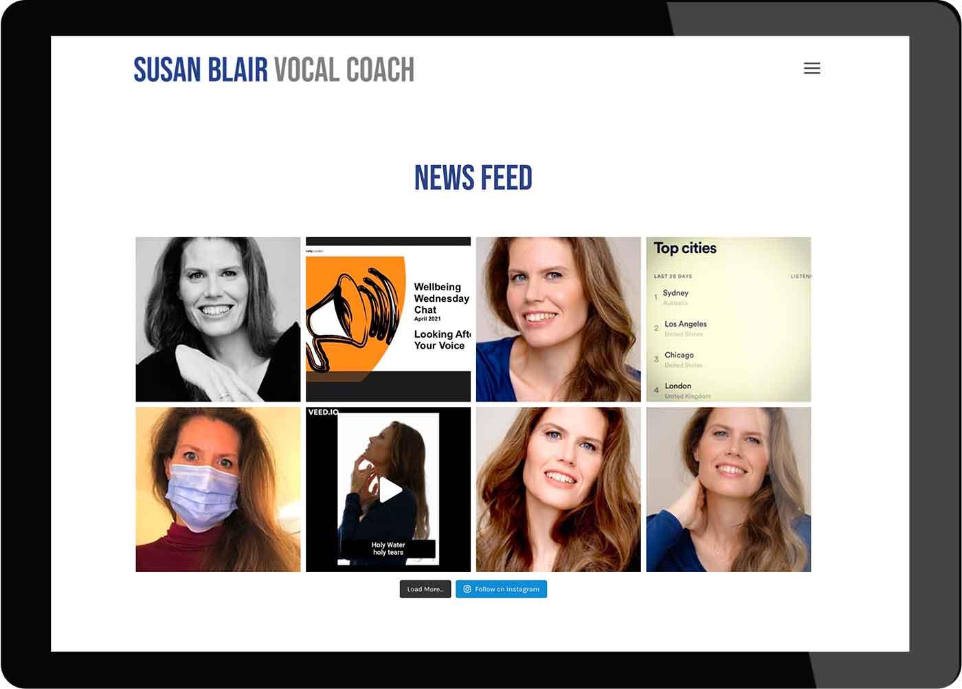 Tigerpink Design - Susan Blair - iPad