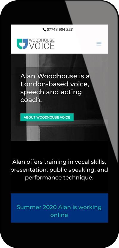 Tigerpink Design - Woodhouse Voice - iPhone